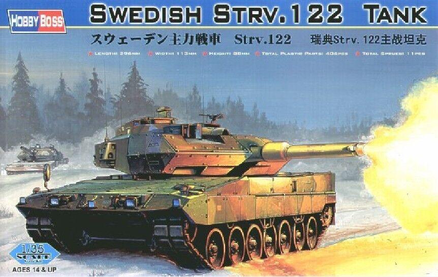 Hobbyboss 82404 1 35 Swedish Strv.122 Tank