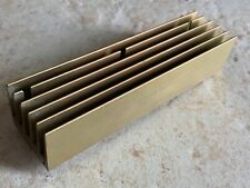 Large Heat Sink Aluminum Gold Anodized 6125x1625x1250in