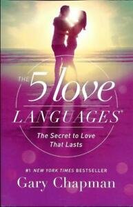New-The-5-Love-Languages-Paperback-The-Secret-to-Love-By-Gary-Chapman