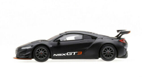 ACURA NSX GT3 MATT BLACK LOS ANGELES AUTO SHOW 1//64 DIECAST CAR BY TSM MGT00026