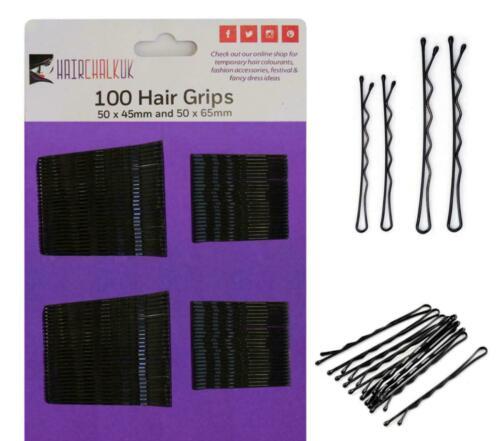 Hair Stylist Kirby Grip Bobby Pin Black Hair Grips Huge Quantity Savings