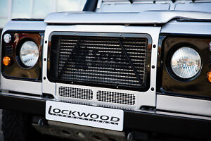 Land-Rover-Defender-Main-Front-Radiator-Grille-for-Both-Air-Con-amp-Non-Air-Con