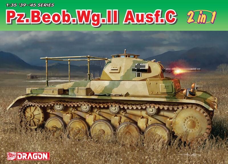 DRAGON 1 3 5 6812  pz.beob.wg. II ausf. A-C