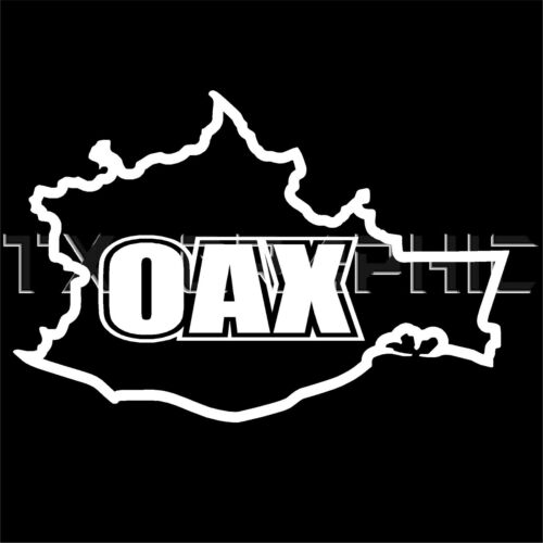 OAXACA STICKER OAX MEXICO STATE  DECAL WINDOW STICKER