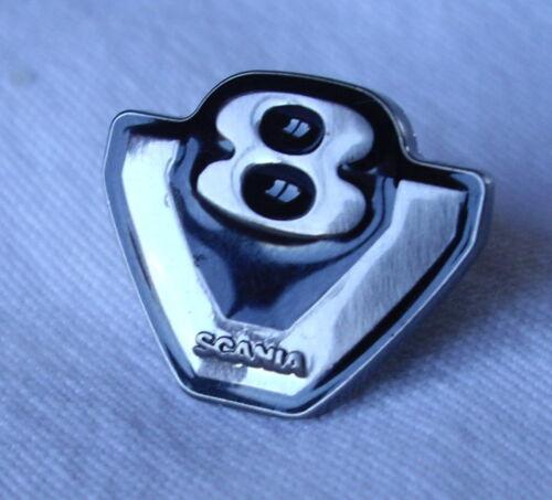 Genuine Scania Truck V8 Enamel Metal Pin badge New