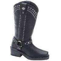 Harley Davidson Ladies Black Summer Boot D83718