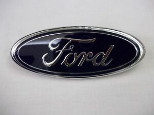 1999 2000 2001 2002 2003 2004 FORD F250SD F350SD FORD OVAL TAILGATE EMBLEM