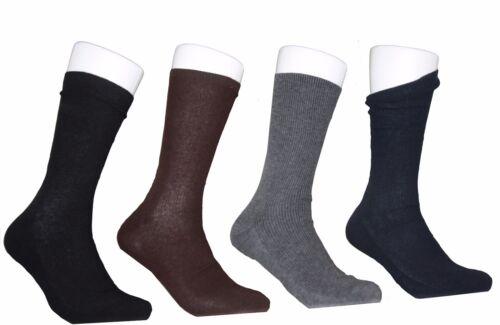 6 Paire De Chaussettes Hommes bussines 85/% coton 15/% élasthanne Noir
