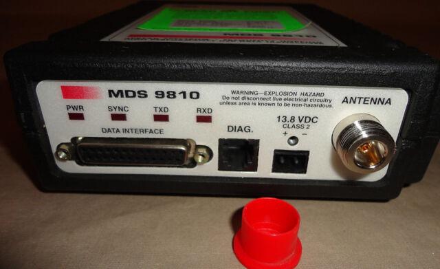 MDS 9810 HL Microwave Data Systems Spread Spectrum Transceiver SCADA RADIO