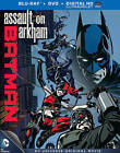 Batman: Assault on Arkham (Blu-ray/DVD, 2014, 2-Disc Set, Includes Digital Copy UltraViolet)