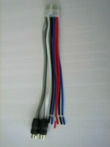 details about dual tbx10 original wire harness 10 pin plug with rca jack 6 Pin Wiring Harness