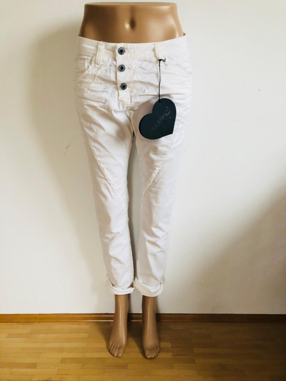 Please-Skinny Jeans P78 a Weiß-New-Größe 32 XXS XXKlein 1146mä