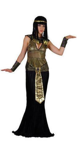 Cleopatra Egyptian Ladies Fancy Dress Halloween Egypt Womens Adult Costume 6-24