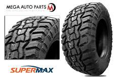 1 Supermax Rt 1 33x1250r17lt 120q Tires 10ply All Terrain At Mud Mt Truck
