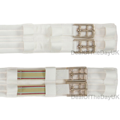 Aerborn Padded Cushion Web Girths Dressage Polo Standard Elastic End Humane