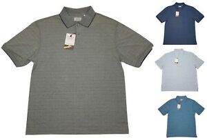 Hudson-River-Mens-Heritage-Classics-Polo-Shirts-Choose-Size-amp-Color-F