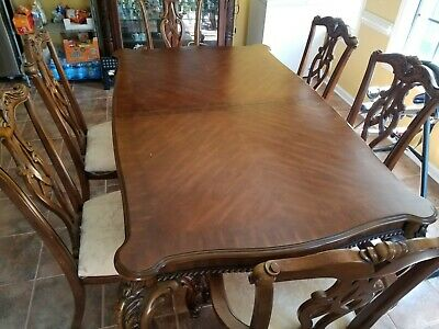 Thomasville Dining Room Set 6 Chairs, Used Thomasville Dining Room Set