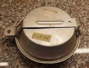 Vtg Set Aluminum Mess Kit Camping Outdoor Cook Pots Pan Boy Girl Scout aluminum