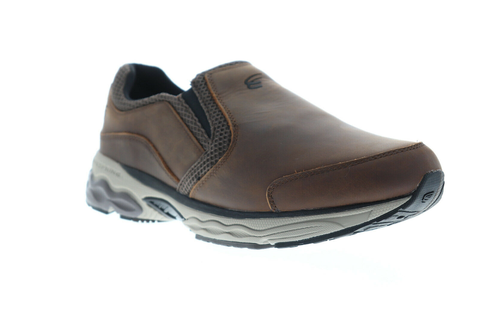 Spira Taurus Leather Moc Mens Brown Wide 2E Athletic  Gym Low Top Walking shoes  more affordable