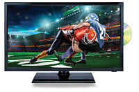 Portable 22 Hd Hi Def Tv And Dvd Player Combo With 12v Volt Car Cord