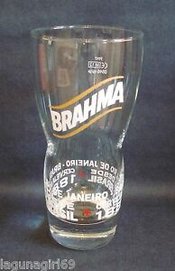 Brahma Brazilian Lager Beer Pint Glass Pub Home Bar Man Cave Shed Brasil Used zaYibYop-09171604-624429208