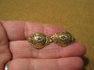 fach 118 1830 Alte Schöne Brosche / 585er Gold Um Ca