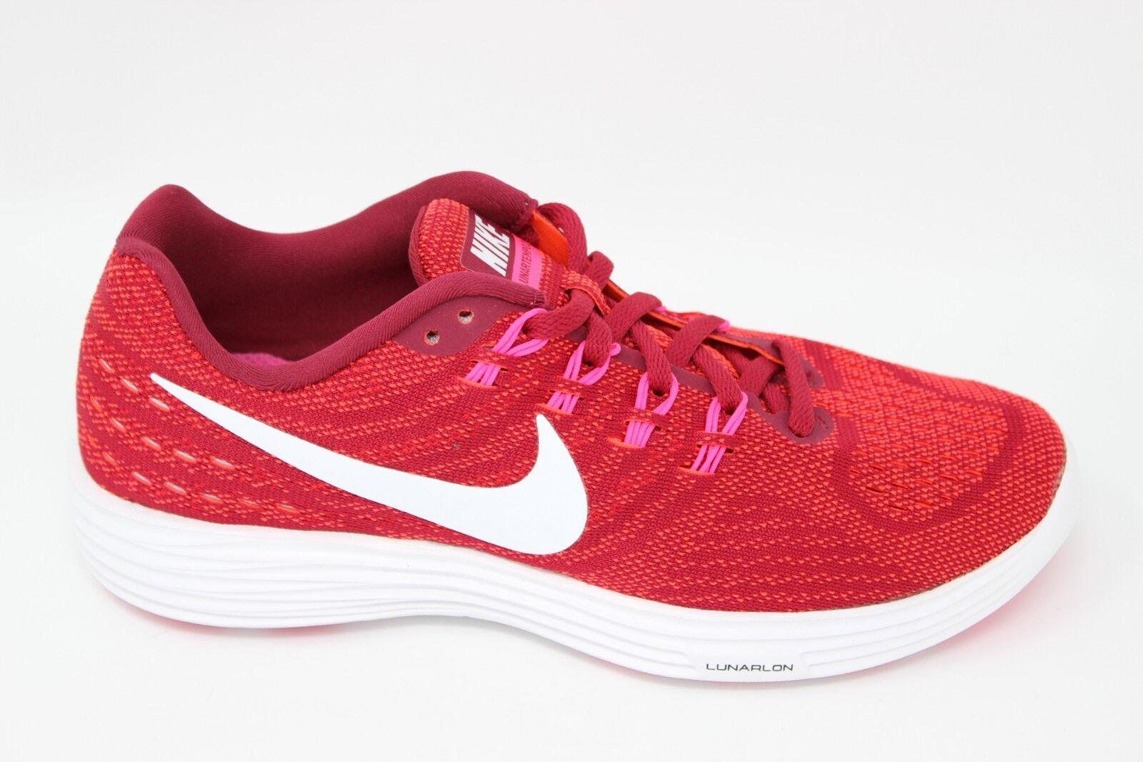 Nike Women's Lunartempo 2 818098 602 Noble Red/White-Bright Crimson Brand New