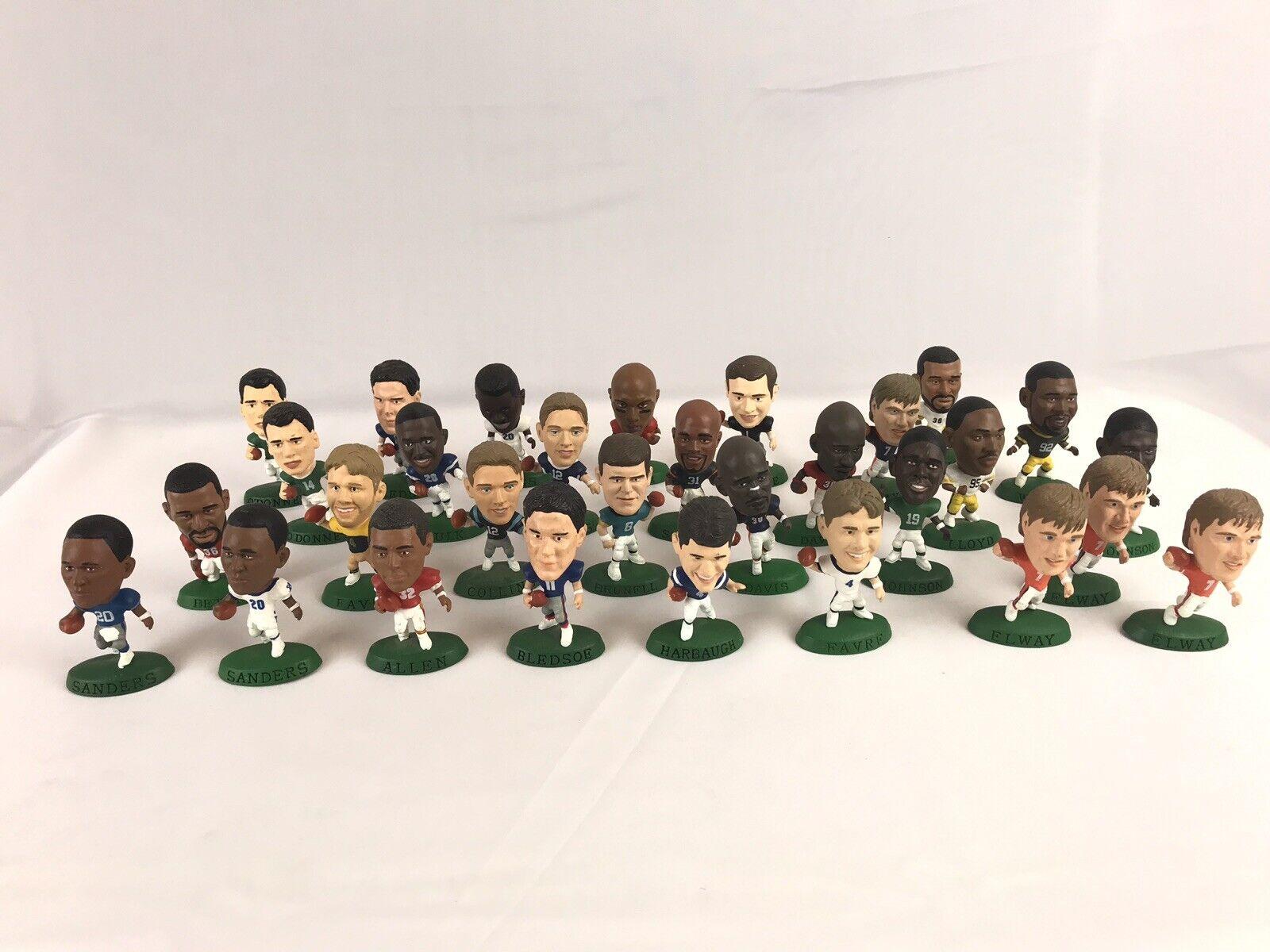 1996 97 98 Corinthian Headliners Figuras De Fútbol Lote De 30 jugadores de gran nombre