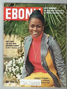 Image result for ebony magazine  cicely tyson
