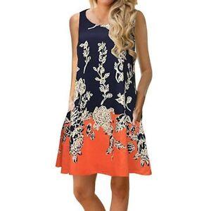 Party-Womens-maxi-beach-sundress-t-shirt-dress-sleeveless-casual-summer-boho