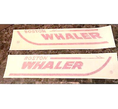 "Boston Whaler original vinyl decal 18"" New old stock w/ installation kit! OEM"