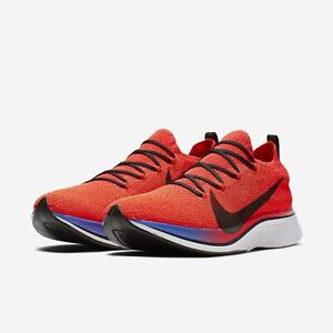 575ef0738826 Nike Zoom Vaporfly 4% Flyknit Bright Crimson Mens Womens Running ...