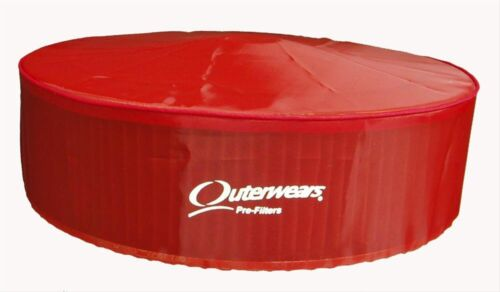 """Outerwears Pre Filter With Top Red 14/"""" X 5/"""""""