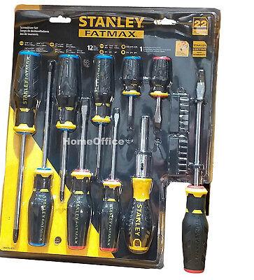Stanley Fatmax 22 pièces Jeu de tournevis