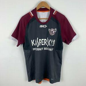 Manly-Sea-Eagles-Shirt-Mens-Medium-Short-Sleeve-ISC-NRL