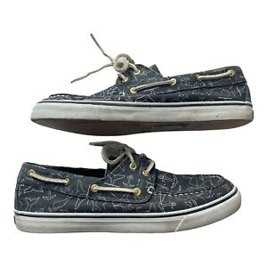 Sperry Top Sider Womens Size 10 M Boat Shoes Blue Whale 9266180