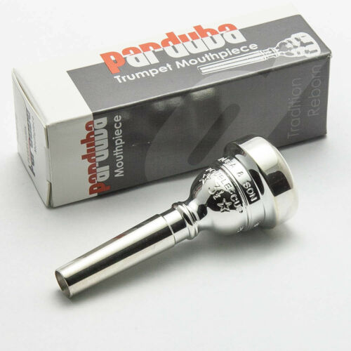 Small Morse//Bach Taper Parduba 6 Silver Flugelhorn Mouthpiece