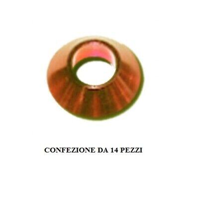 Adattabile Rondella Conica Spm Spm-v19 5806 3mm 14 Pezzi Colore Oro Conical Washer Rc Spare