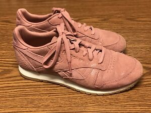 Sz Pink Classic Gum Bs8226 White 8 Leather Rose Women s 5 Exotics Reebok  1zFqaEA1 0d2e48725