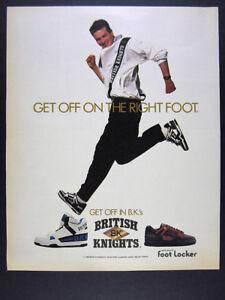 1989 British Knights BKs B.K.'s Shoes