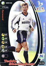 FOOTBALL CHAMPIONS 2001-02 Teddy Sheringham 239/250 Tottenham Hotspur F.C. FOIL