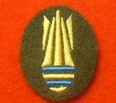 RAF Bomb Disposal Trade Badge For Mess Dress