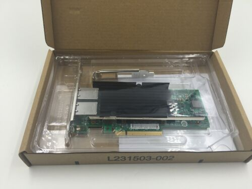Intel X540-T2 10G Dual RJ45 Ports PCI-Express Ethernet Converged Network Adapter