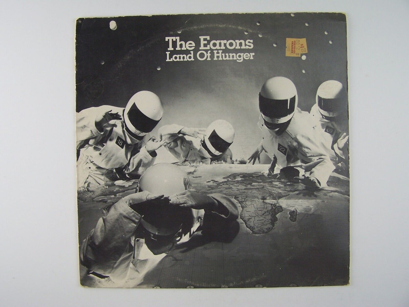 "The Earons - Land Of Hunger Vinyl 12"" Single 45RPM Reco"
