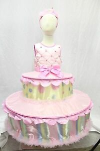 Birthday-Tiered-Cake-Boutique-Halloween-Costume-Girl-039-s-Cosplay-Sweet-Kids-NEW