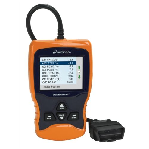 Actron CP9670 Eraser Trilingual OBD II and CAN Scan Tool Car Code Reader