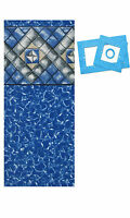 24'x48 Ft Round Esther William Beaded Above Ground Swimming Pool Liner-25 Gauge on sale