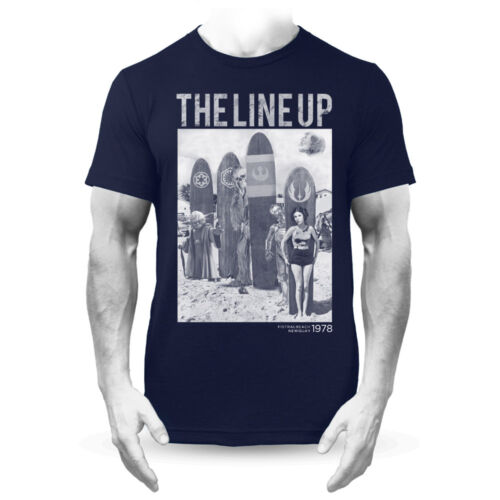 The Line Up Star Wars Retro Surf Fistral T-Shirt Navy