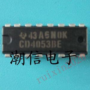 5pcs-CD74HC4053-74HC4053-CD4053BE-TRIPLE-2X1-DIP-16-NEW-R2020