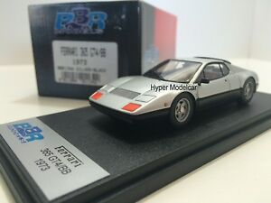 Bbr Modèle 1/43 Ferrari 365 Gt / 4 Bb 1974 Argent Art.   Bbr134a